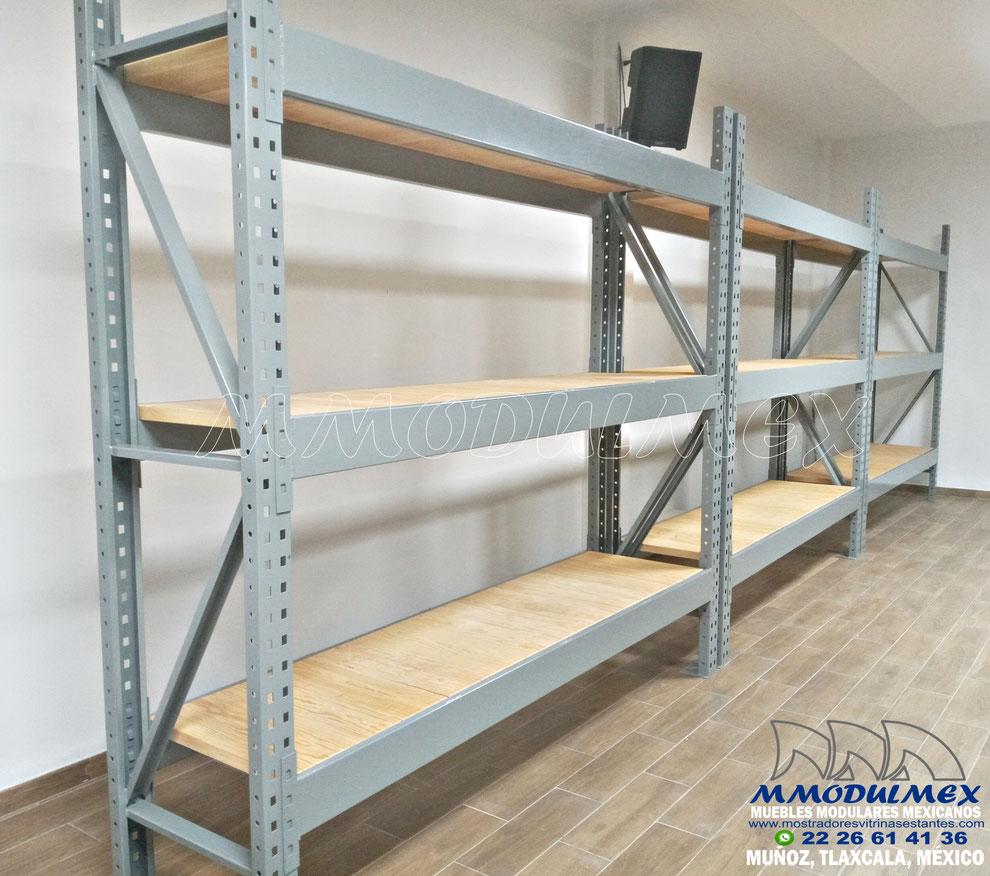 Rack de carga pesada, Rack de carga industrial, Rack Selectivo
