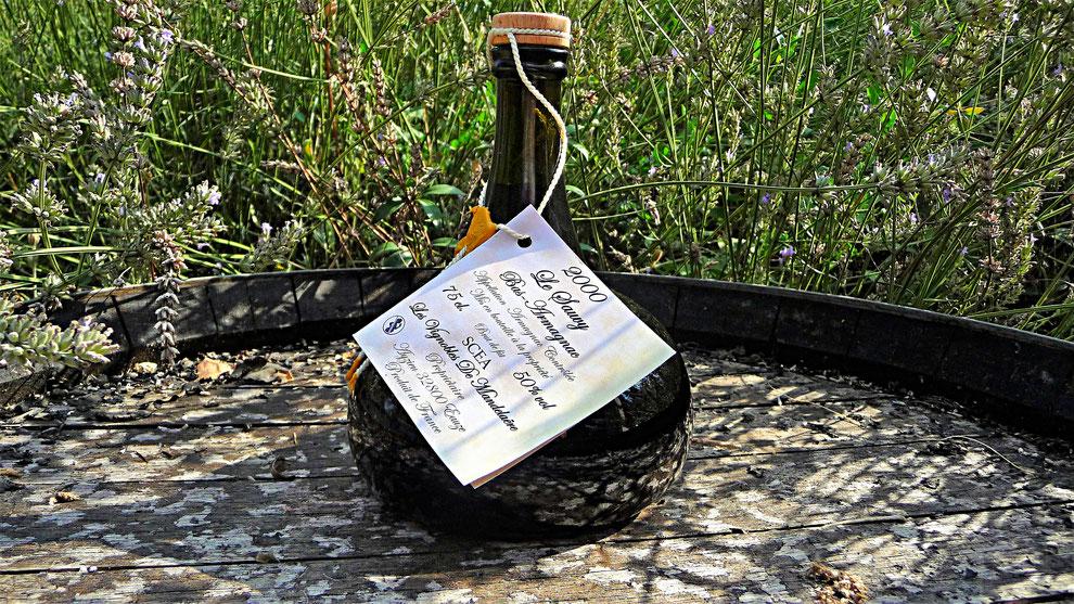 un dégestif en bio , Armagnac pur, Armagnac bio pour des raisons de qualité, la pureté de l'armagnac bio