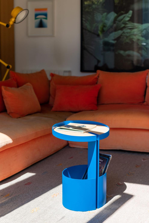 Basso, Barwagen blau, Marke UTIL