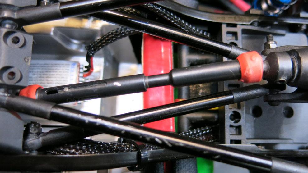 MST CFX-W Stahlkardanwellen