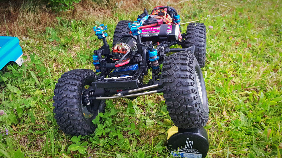 MST CFX-W, Yeah Racing Shock Gear Offroad Dämpfer 60mm