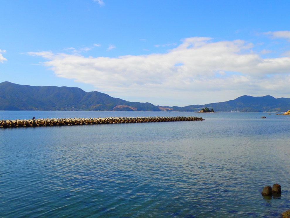 周防大島の海