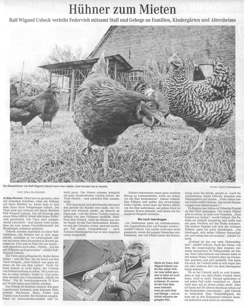 Wümme-Zeitung 27.02.2016