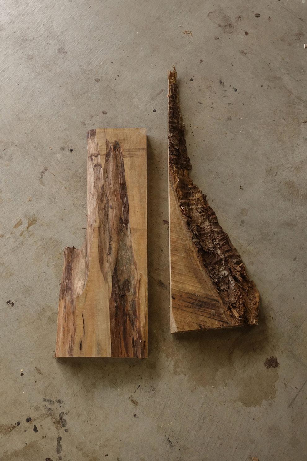 耳付き木材
