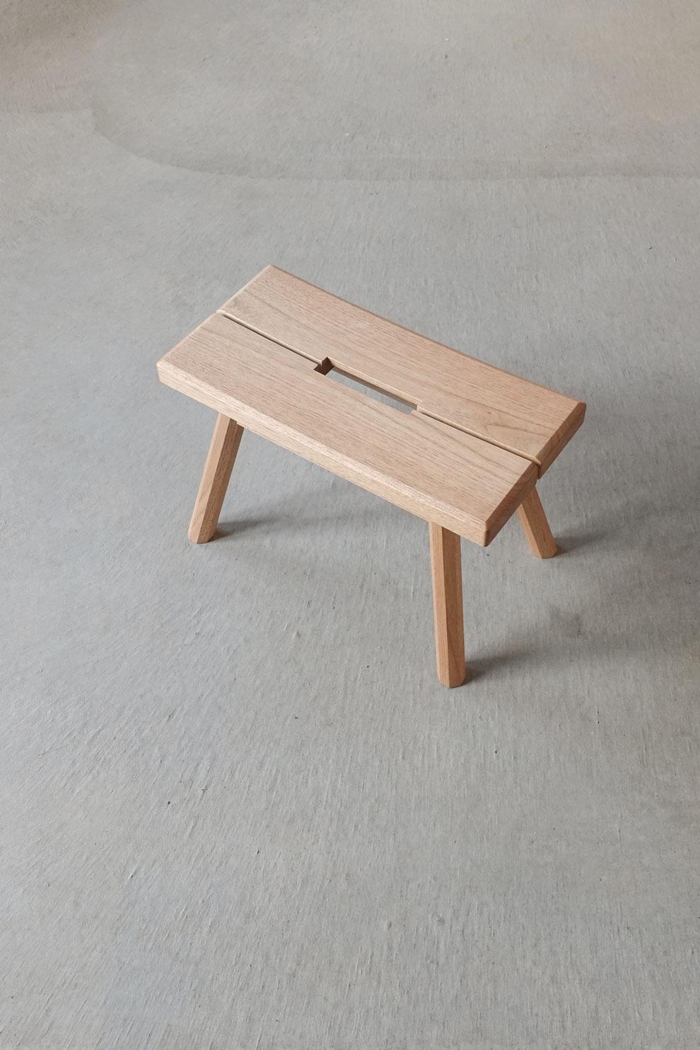 無垢材 天然木 スツール ハンドメイド