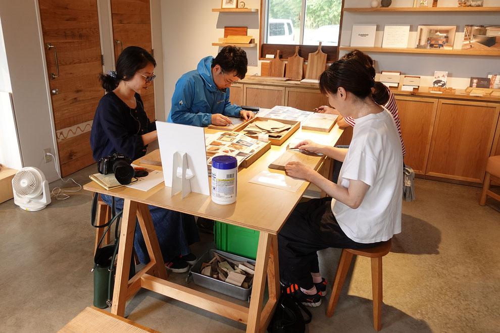 仙台 秋保 ワークショップ カッティングボード  木工