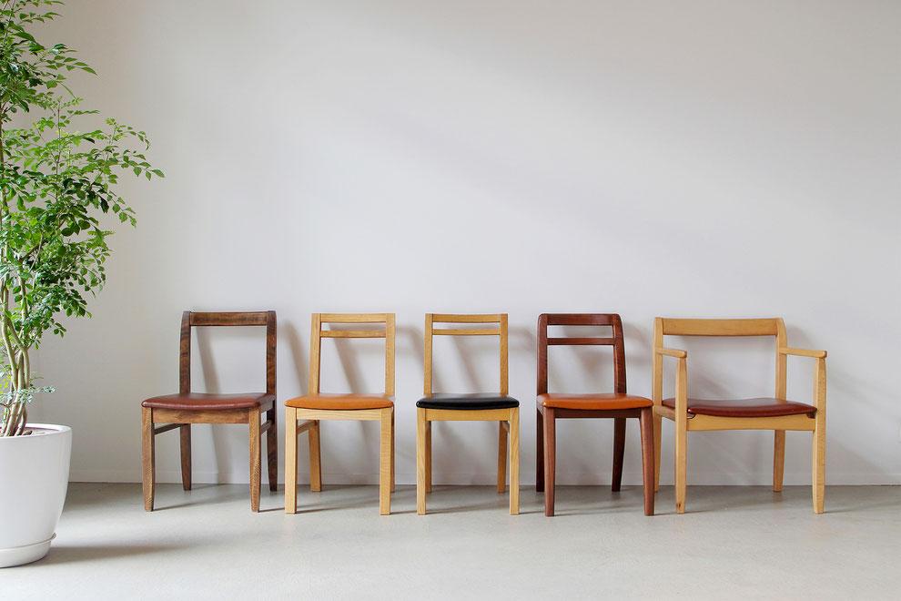 無垢材 天然木 椅子 チェア ハンドメイド