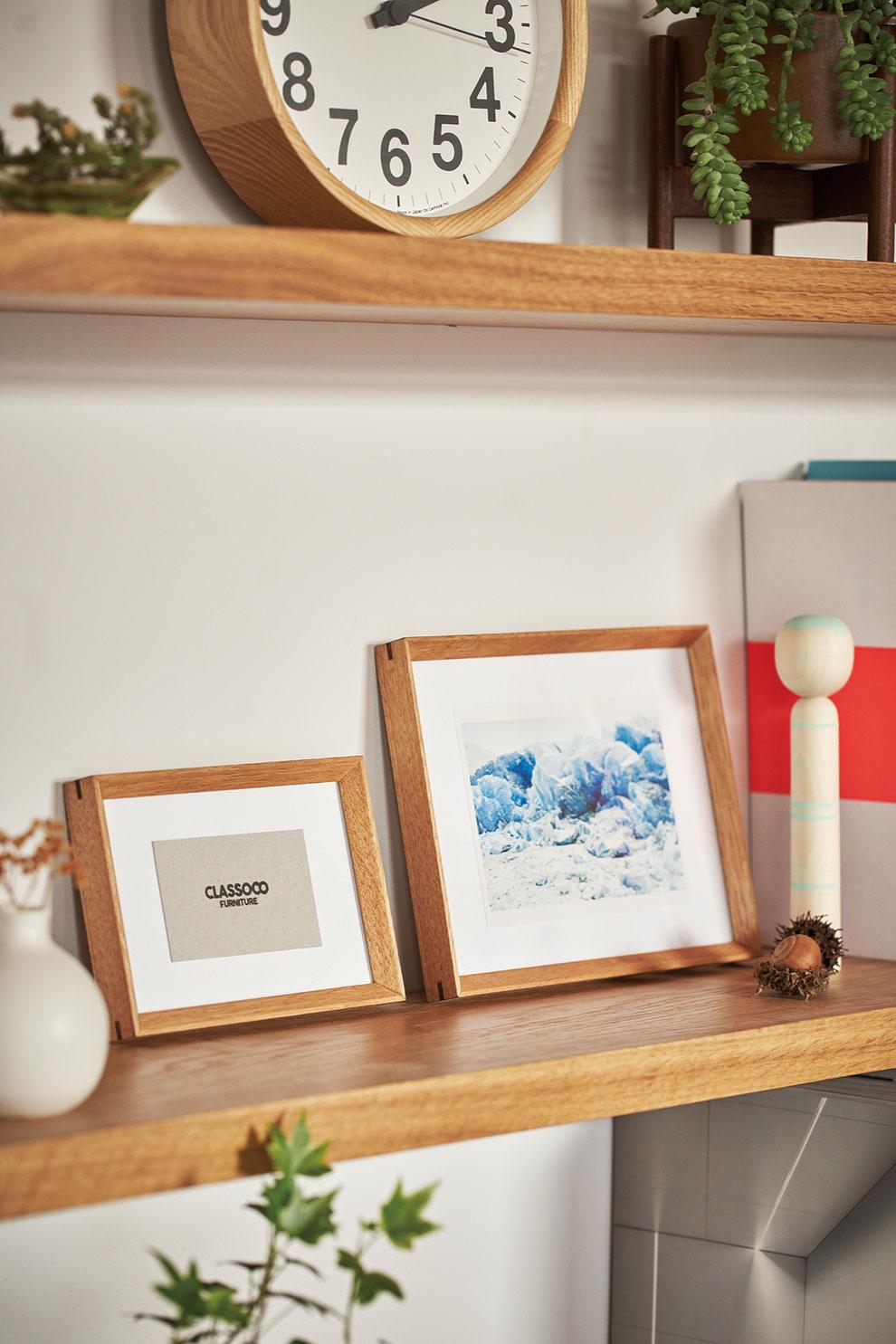 クラスコファニチャー オリジナル家具 アートフレーム 無垢材 オイル仕上げ