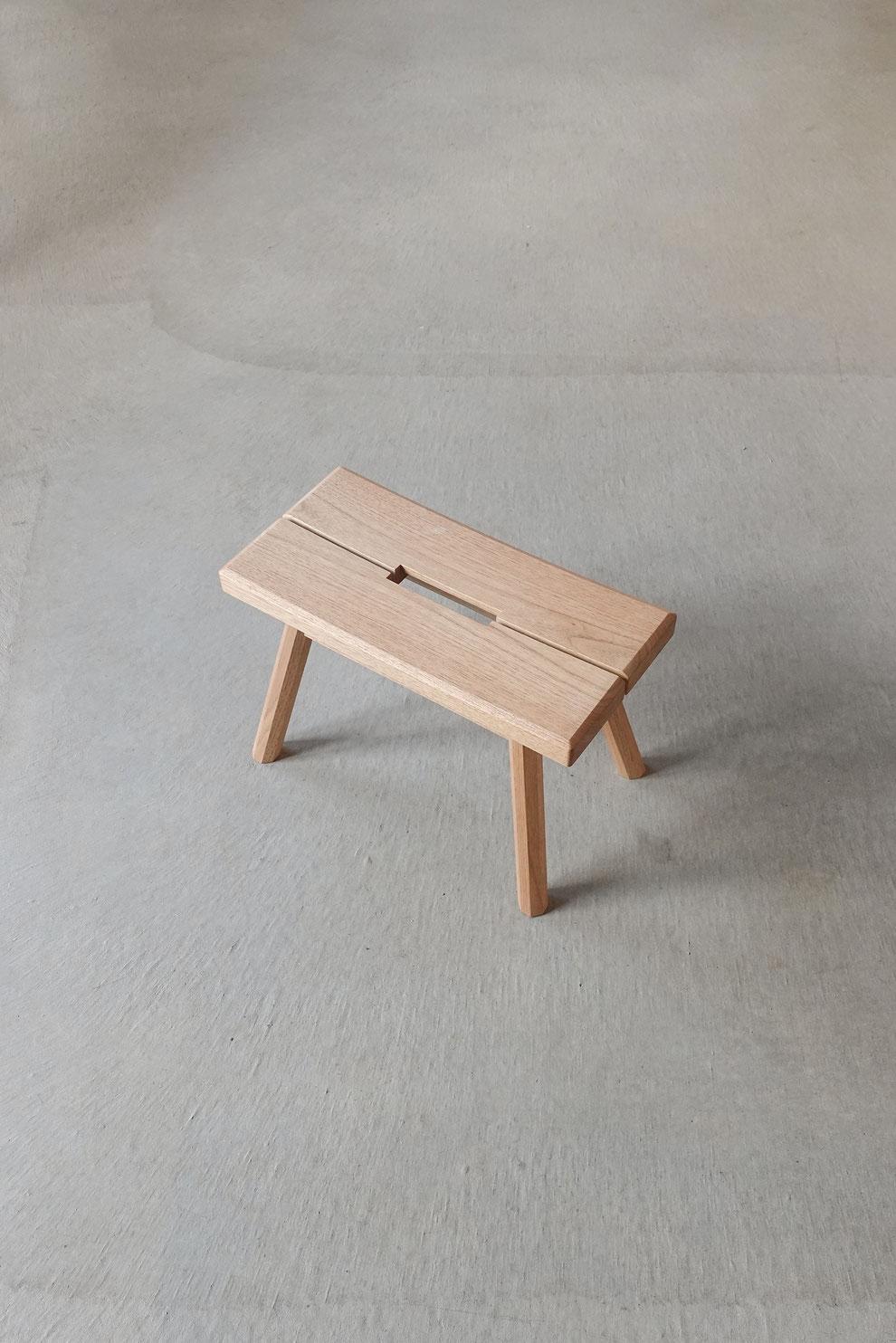 クラスコファニチャー オリジナル家具 スツール 無垢材 オイル仕上げ