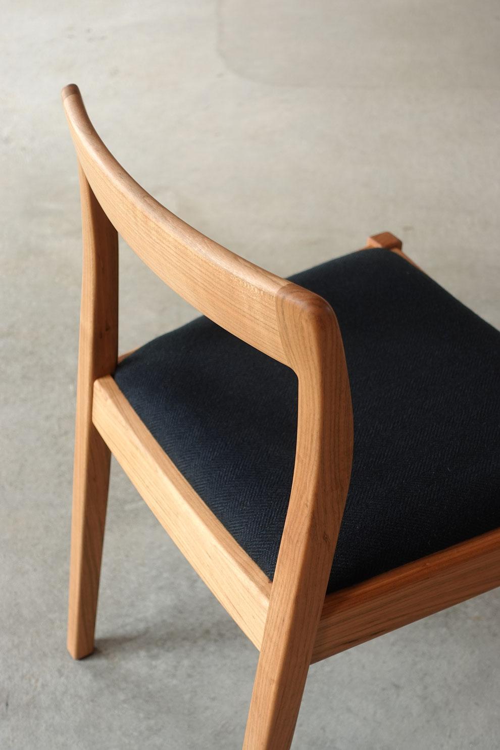 仙台 秋保 オーダー家具 オリジナル クラスコファニチャー 椅子 チェア 座面の高さ 座面の幅 無垢材