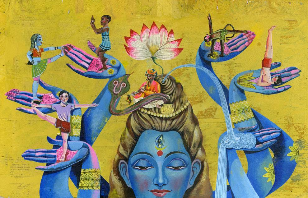 Shiva von Olaf Hajek