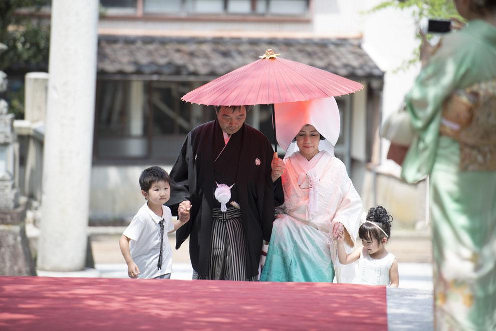 バウリニューアル 4世代参加の結婚式