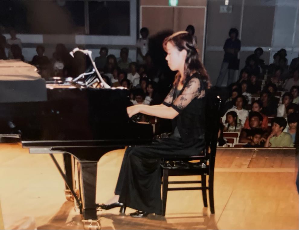 児童合唱団の伴奏