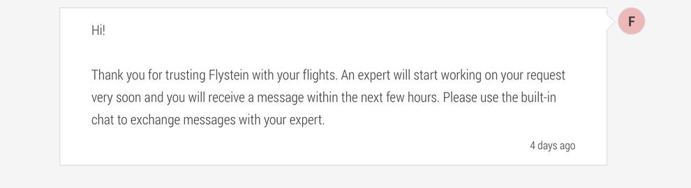 flystein flight booking service