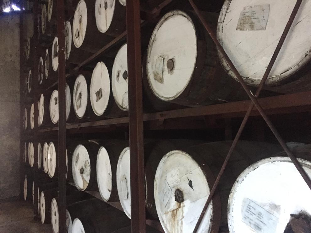 Rum wird in alten Whiskyfässern gereift