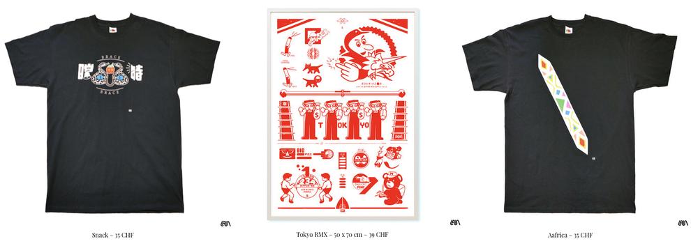 shop streetwear prints poster tshirts
