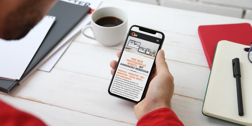 Responsive Webdesign: Ohne Mobiloptimierung geht nichts mehr! | Blogbeitrag by Giangrasso Webdesign! Webdesign, Marketing, Seo und Jimdo Expert aus Karlsruhe und Umgebung!