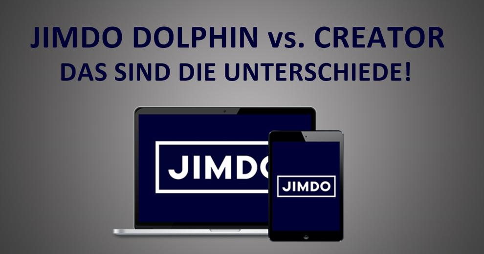Jimdo Dolphin oder Creator? Das ist der Unterchied! | Blogbeitrag by Giangrasso Webdesign! Webdesign, Marketing, Seo und Jimdo Expert aus Karlsruhe und Umgebung!
