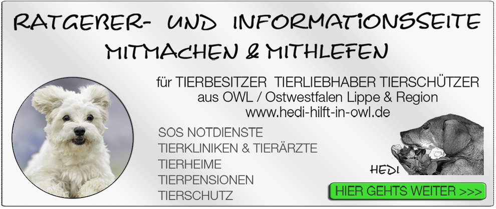TIERKLINIK BIELEFELD TIERKLINIKEN NOTDIENST TIERÄRZTE TIERNOTDIENST TIEROPERATION OWL OSTWESTFALEN LIPPE TIERHILFE TIERSCHUTZ TIERHEIME 20