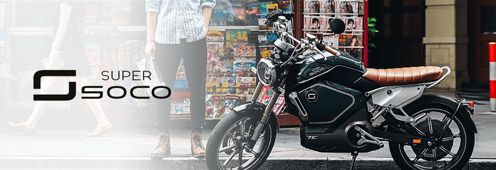 Super Soco TS - Elektromoped 45kmh escooter mit zulassung