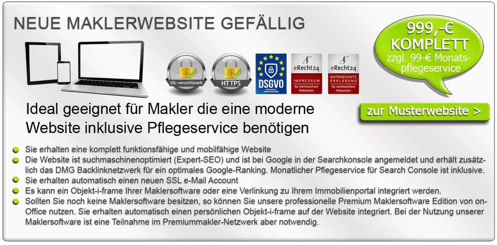 Maklersoftware Immobiliensoftware Immobilienmakler Software