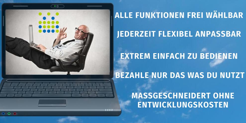 Flexible CRM Software die Kunden Anforderungen in den Mittelpunkt stellt