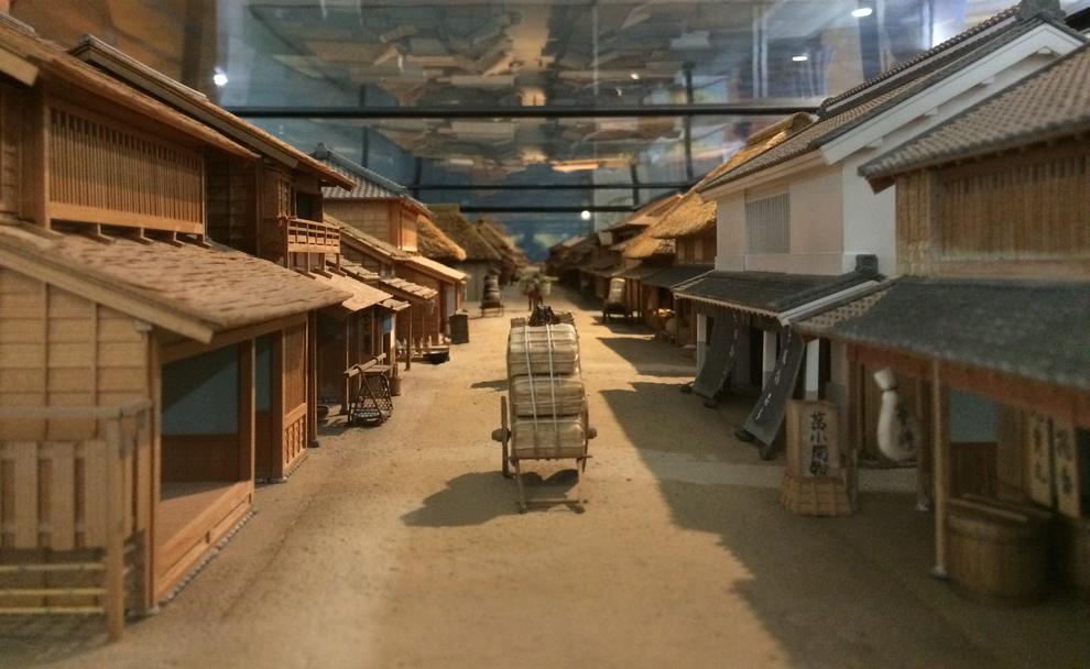 千住宿復元模型(マルイ10階)