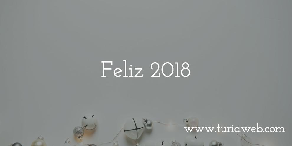 Feliz año 2018 y próspero año nuevo