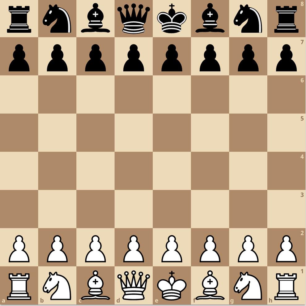 練馬チェス教室 チェス 初期配置 駒の動かし方