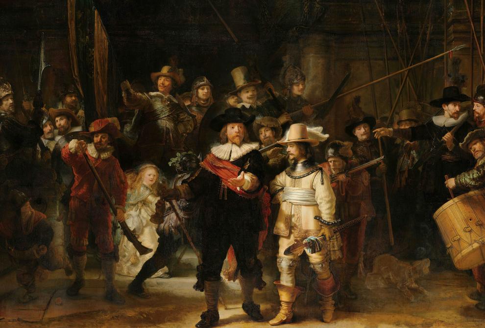 Nachtwache von Rembrandt, Foto: Rijksmuseum