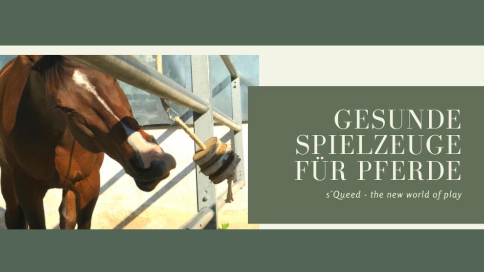 s´Queed gesunde Spielzeuge für Pferde