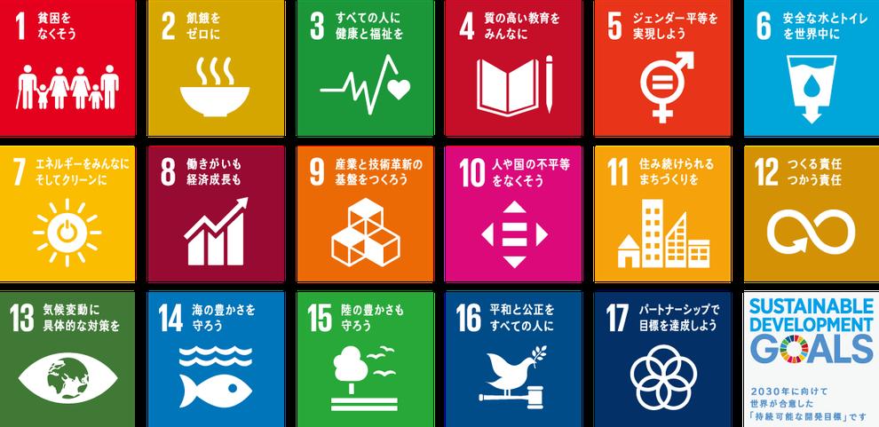 SDGs持続可能な開発目標17