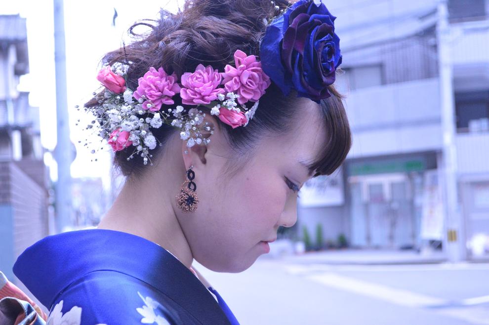 福岡平尾美容室 成人式 着付けメークセット