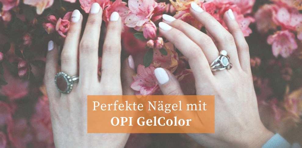 OPI GelColor Manicure im Bodyzone Nagelstudio in Basel
