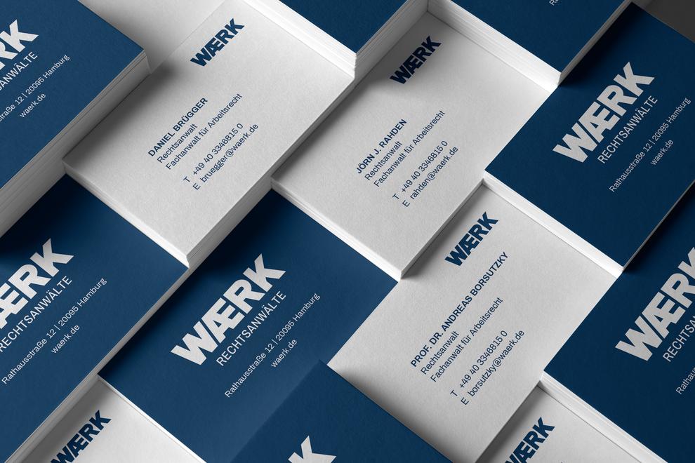 WAERK Business Cards