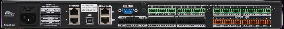 dcp-555, procesador para salas de conferencias, procesador para salas de juntas, instalación de equipo de audio