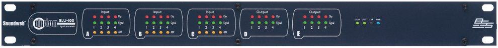 procesadores de audio, bss, blu100, blu102, blu103, blu50, london blu, soudweb, audio para instalaciones, tesira forte