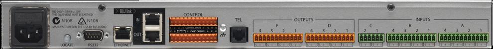 bss, blu101, procesador para conferencias, procesador, procesador de audio, aec, acustic eco canceladtor, cancelador de eco acustico, tesira forte
