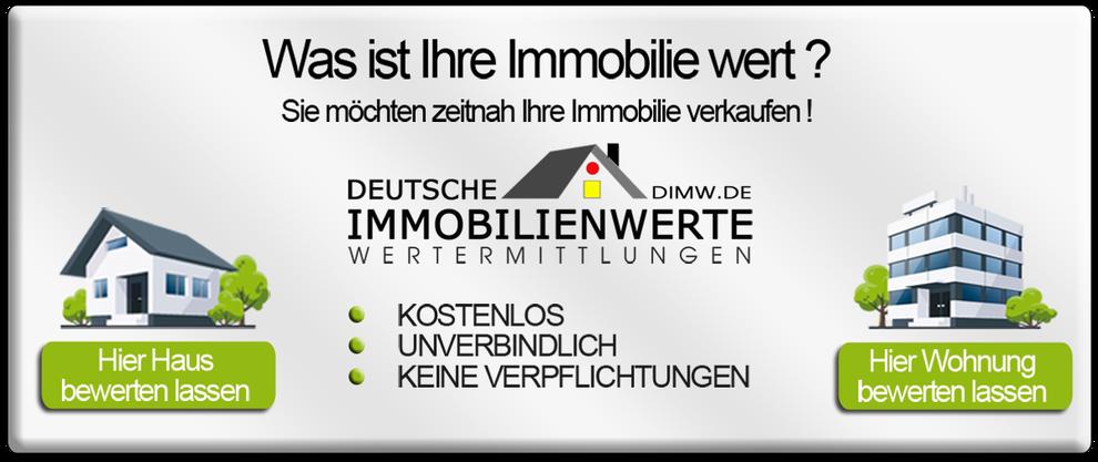 KOSTENLOSE IMMOBILIENBEWERTUNG EXTERTAL VERKEHRSWERTERMITTLUNG IMMOBILIENWERTERMITTLUNG IMMOBILIE BEWERTEN LASSEN RICHTWERT MARKTWERT