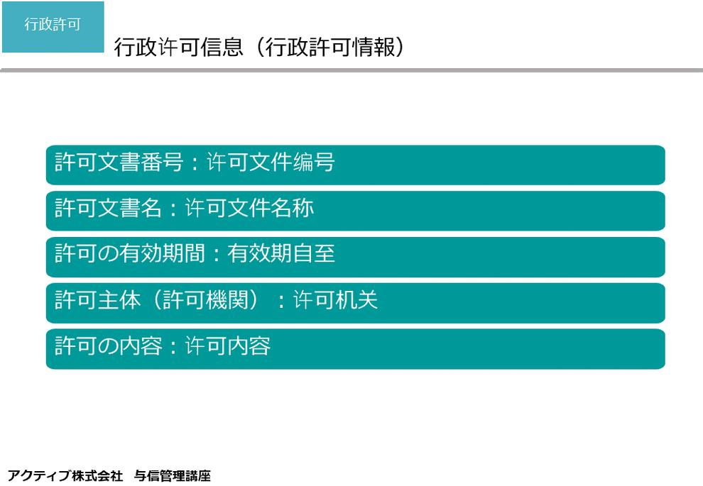 国家(全国)企業信用情報公示システム(国家企业信用信息公示系统)では、中国企業の行政許可情報を確認・閲覧できます。许可文件编号:許可番号 許可文書名:许可文件名称: 有效期自至:許可の有効期間 许可机关:許可主体(許可機関) 许可内容:許可の内容