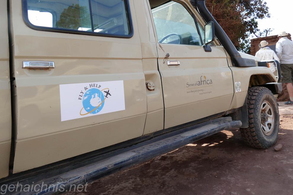 Unterwegs auf Delegationsreise von & mit Fly & Help und der Agentur vor Ort: Sense of Africa