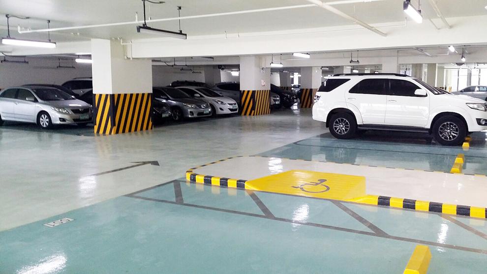 Pintado de parkings públicos y garajes privados