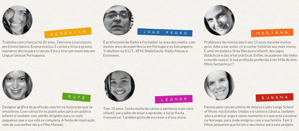 Team von Radiomiudos