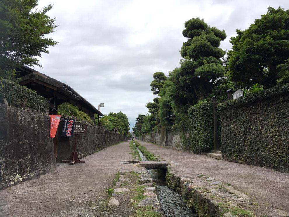 武家屋敷の水路