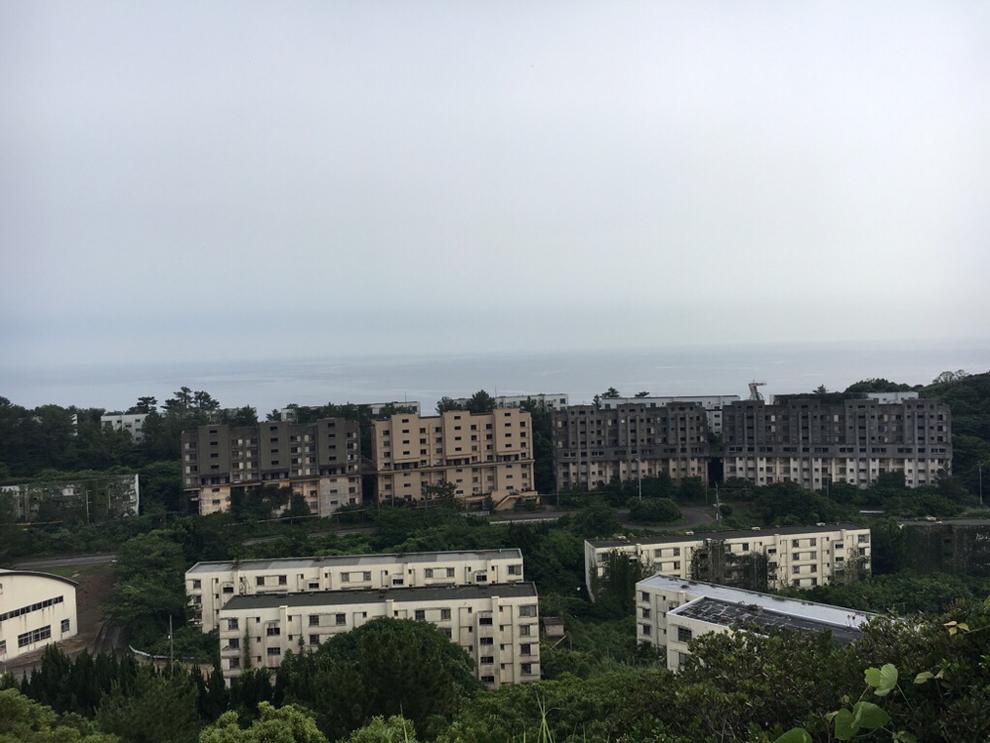 池島の高台からの写真その1