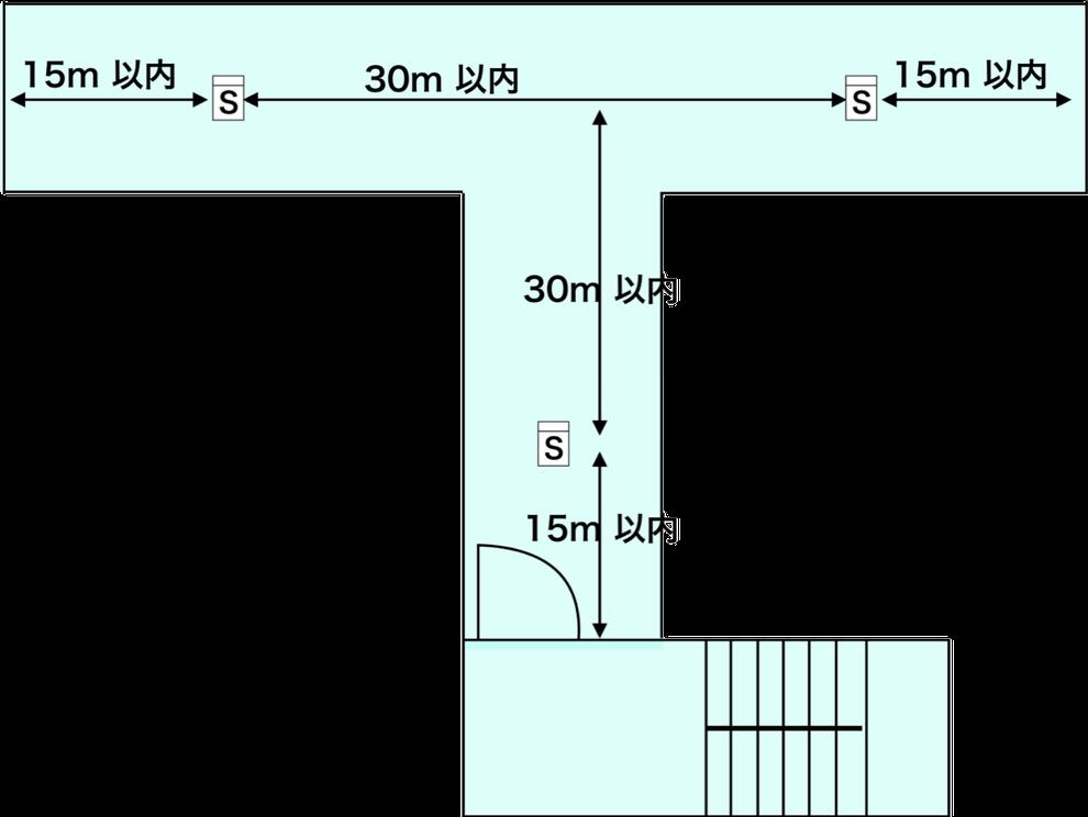 廊下を歩く際は煙感知器に注目してみて下さい part.2