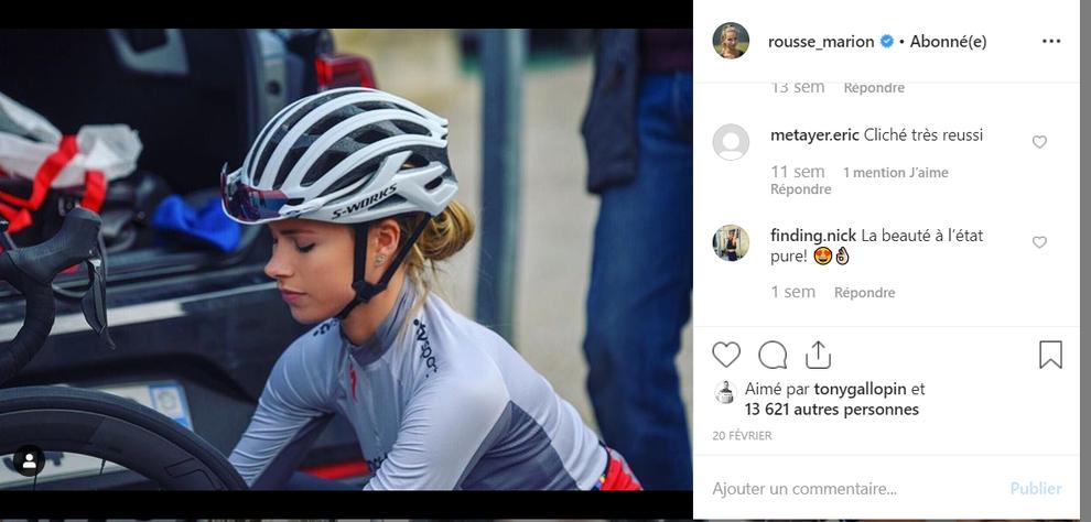 Marion Rousse - Instagram