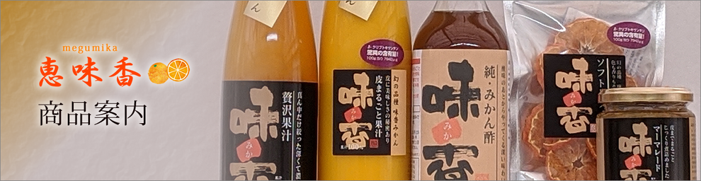 恵味香 megumika 各種商品案内