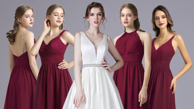 Brautkleider Essen 2019, verschiedene Motive, Jumpsuit, kurze Kleider, lange Kleider, Rücken mit Spitze