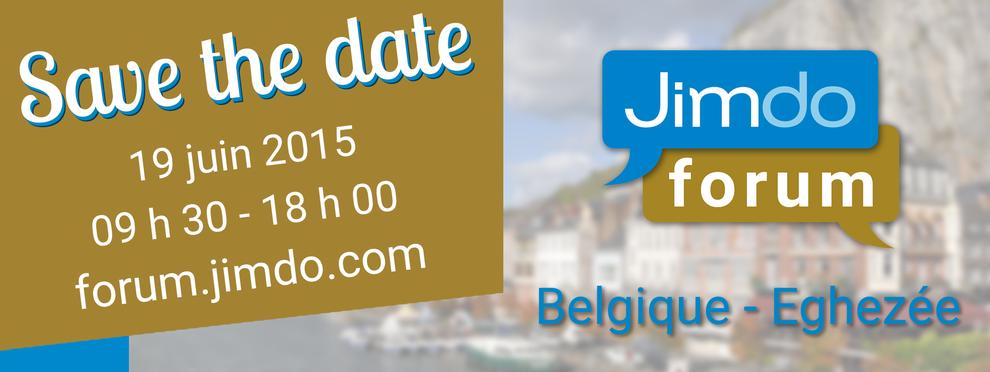 Jimdo Forum 19 juin- Belgique
